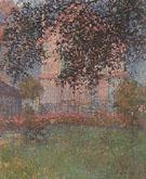 Claude Monet : Monets House at Argenteuil 1876 : $369