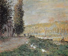 Claude Monet : The Banks of the Seine 1879 : $369