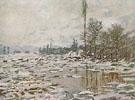 Claude Monet : Break up of the Ice 1880 : $389