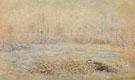 Claude Monet : Hoarfrost near Vetheuil 1880 : $389