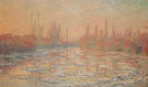 Claude Monet : Ice Thawing on the Seine 1880 : $389