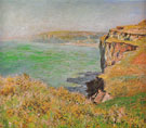 Claude Monet : Cliff at Varengeville 1882 : $369