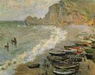 Claude Monet : Etretat 1883 : $389