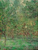 Claude Monet : Lemon Trees at Bordighera 1884 : $369