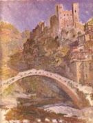Claude Monet : The Castle at Dolce Acqua 1884 : $389