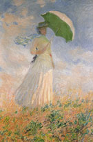 Claude Monet : Woman with a Parasol Turned wowards the Right 1886 : $369