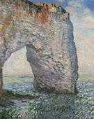 Claude Monet : The Manneporte Etretat 1886 : $389