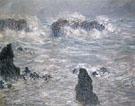 Claude Monet : Storm Coast of Belle Ile 1886 : $389