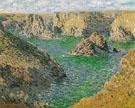 Claude Monet : Port Domois Bella Ile 1886 : $399