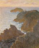 Claude Monet : Rocks at Belle Ile 1886 : $369