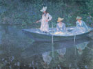 Claude Monet : The Boat at Giverny 1887 : $389