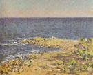 Claude Monet : The Sea near Antibes 1888 : $389