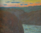 Claude Monet : Valley of the Creuse Afternoon Effect 1889 : $389