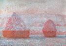 Claude Monet : Hay Stacks Morning Effect 1889 : $385