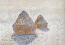 Claude Monet : Hay Stacks Winter 1890 : $389