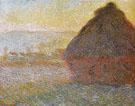 Claude Monet : Hay Stacks Sunset 1890 : $389