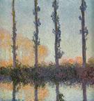Claude Monet : Poplars 1891 : $369