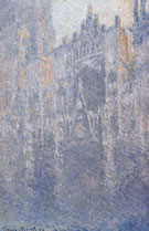 Claude Monet : Rouen Cathedral Facade and Tower Morning Effect 1892 : $389