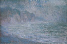 Claude Monet : Cliffs at Ppurville Rain 1896 : $389
