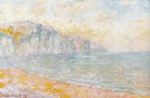 Claude Monet : Cliffs at Pourville Morning 1896 A : $369