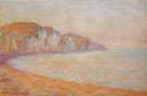 Claude Monet : Cliffs at Pourville Morning 1896 B : $389