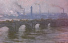 Claude Monet : Waterloo Bridge Cloudy Day 1899 : $389