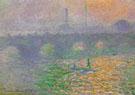 Claude Monet : Waterloo Bridge London Winter 1899 : $389