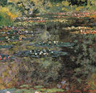 Claude Monet : The Water Lily Pond Giverny 1904 : $389