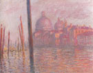 Claude Monet : The Grand Canal and the Salute Church 1908 : $389