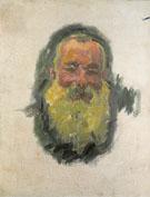 Claude Monet : Self Portrait 1917 : $385