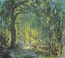 Claude Monet : Weeping Willow 1918 B : $389