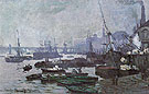 Claude Monet : Boats in the Port of London 1871 : $399