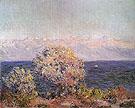 Claude Monet : Cap Dantibes Mistral 1888 : $389