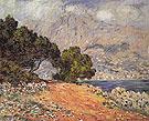 Claude Monet : Cap Martin Near Menton 1884 : $389