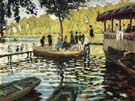 Claude Monet : La Grenouillere : $389