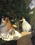 Claude Monet : Women in the Garden : $389