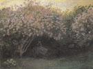 Claude Monet : Lilacs Overcast Weather 1872 : $389