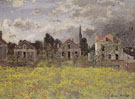Claude Monet : Houses by the Edge of the Fields 1873 : $389