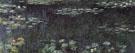 Claude Monet : Green Reflection c1916 : $389