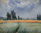 Claude Monet : Wheat Field 1881 : $359