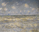 Claude Monet : Rough Sea 1881 : $389
