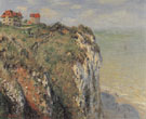 Claude Monet : Cliffs at Dieppe 1882 : $389