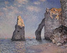 Claude Monet : The Needle Rock and the Porte dAval 1885 : $389