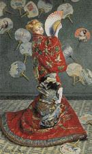 Claude Monet : La Japonaise 1875 : $389