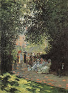 Claude Monet : Parisians Enjoying the Pore Moncean 1878 : $389