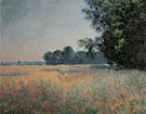 Claude Monet : Oat Fields Giverny 1890 : $389