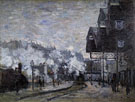 Claude Monet : Exterior of the Gare Saint Lazare 1877 : $389