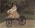 Claude Monet : Jean on His Mechanical Horse 1872 : $359