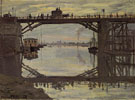 Claude Monet : The Highway Bridge Under Repair 1872 : $389