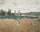 Claude Monet : Poppy Field near Vetheuil 1879 : $395